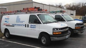 Premier Heating and Cooling Trucks